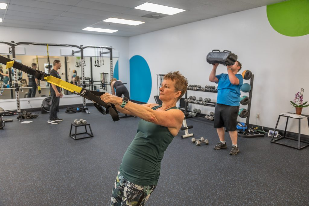 Personal training at lifeSport Fitness in San Jose