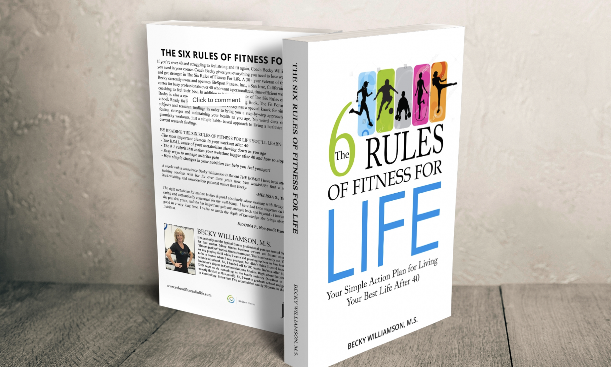 The Six Rules of Fitness for Life book